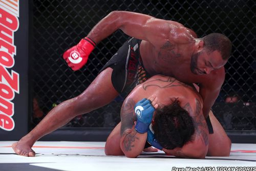 After training with Ryan Bader, unbeaten Tyrell Fortune seeks breakthrough at Bellator 225