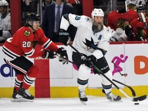 Joe Thornton points to talk with Joe Montana in Toronto move