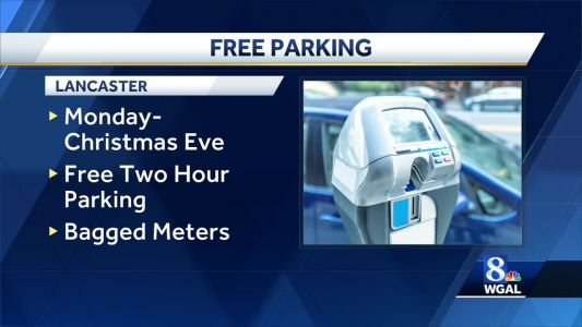 Lancaster promoting downtown shopping with free holiday parking