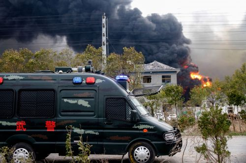 Over 40 dead, dozens injured in Chinese chemical plant explosion