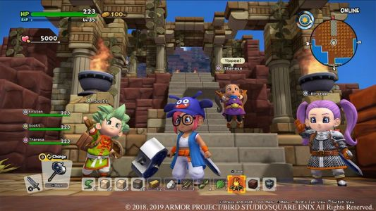 Rebuild a broken world in Dragon Quest Builders 2, available now