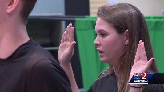 Central Florida teen sworn into Army by astronaut on International Space Station