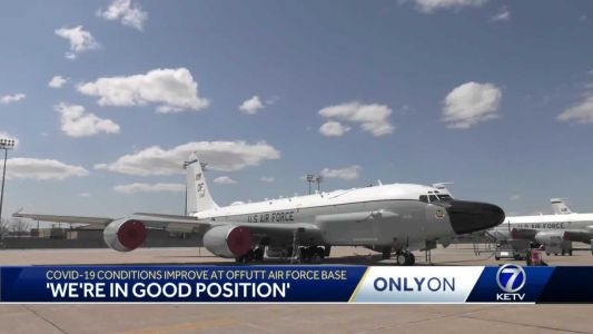 'We're in good position': COVID-19 conditions improve at Offutt Air Force Base