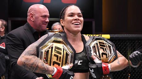 'She can beat some of the men': Amanda Nunes retains UFC featherweight crown with routine win over Megan Anderson