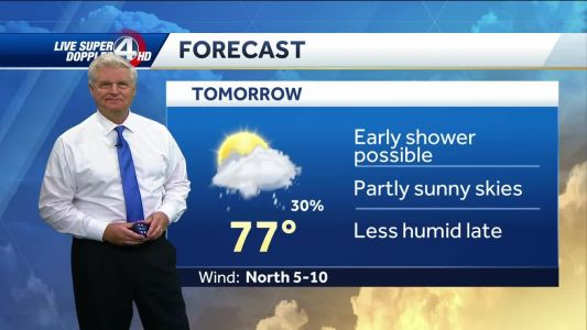 Videocast: Scattered Showers Tonight