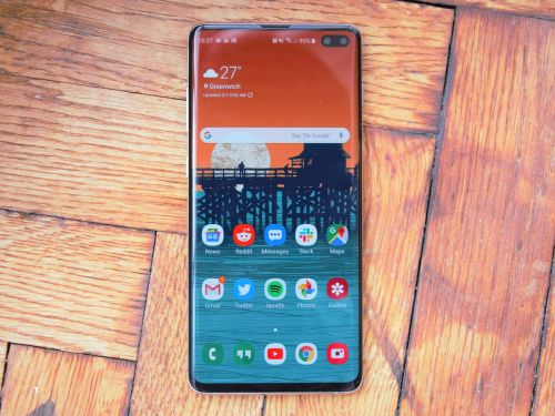 How to switch to and use 'navigation gestures' on a Samsung Galaxy S10, instead of its default navigation buttons