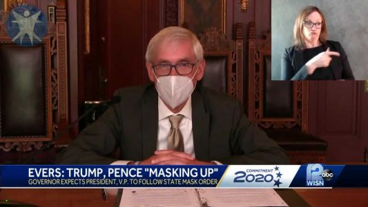 Evers expects Trump, Pence to follow statewide mask order