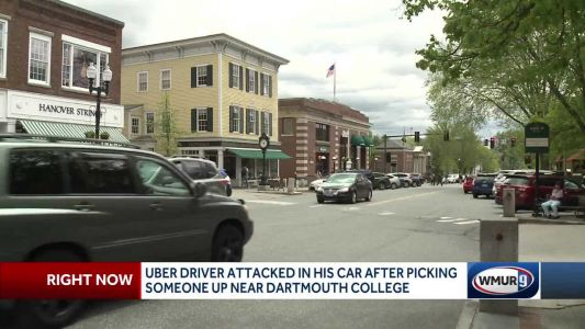 Uber driver says he was assaulted by person who got in his car