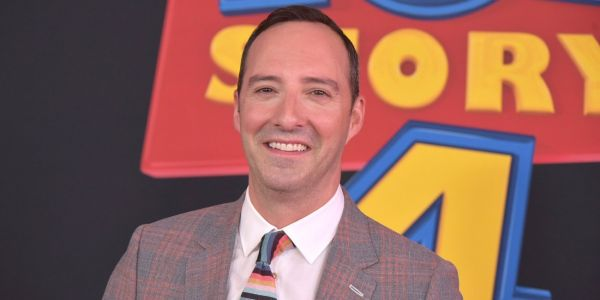 Tony Hale talks about playing fan-favorite Forky in 'Toy Story 4' and how coping with real-life anxieties led to his upcoming Netflix show