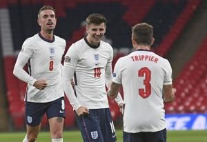 England beats Belgium 2-1 to go top of Nations League group