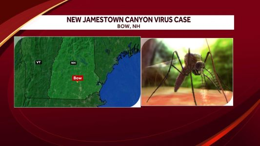 Bow man tests positive for Jamestown Canyon virus, health officials say