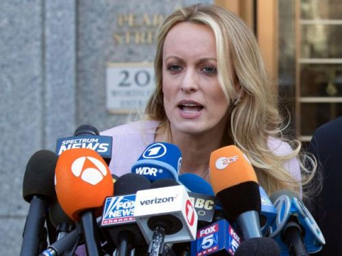 Stormy Daniels, porn star suing Trump, arrested at Ohio strip club for touching patrons
