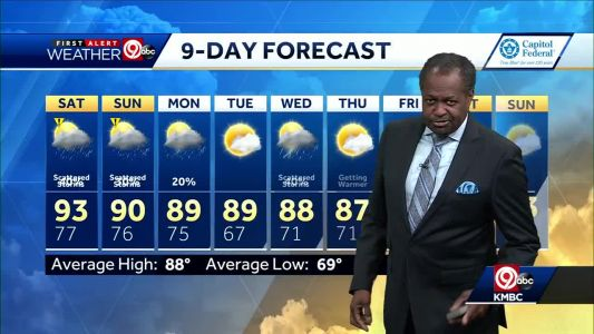 First Alert: Toasty temps ahead for the weekend