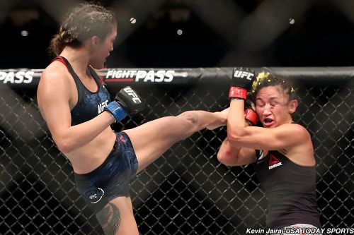 Tatiana Suarez not sure Nina Ansaroff gets any UFC 238 advantage training with Amanda Nunes