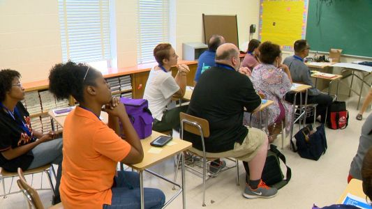 New Baltimore County teachers prep for first day of school