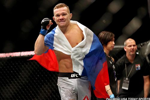 Petr Yan meets replacement opponent Jin Soo Son at UFC Moscow