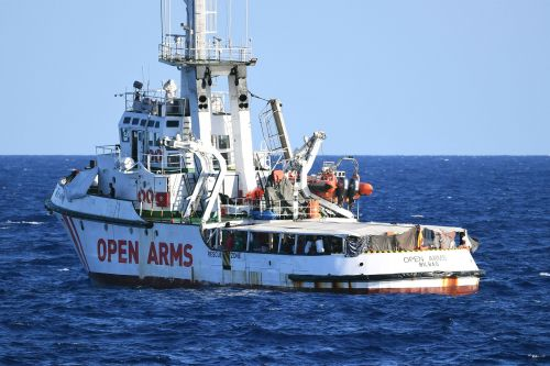 Migrants are getting 'desperate' aboard rescue ship denied entry by Italy