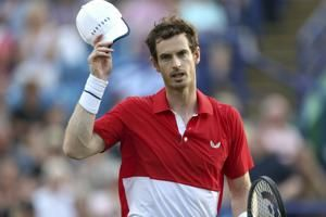Murray loses doubles match at Eastbourne