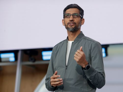 Sundar Pichai is now the CEO of both Google and Alphabet. Here's his meteoric rise, in photos
