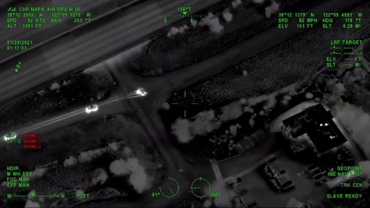 VIDEO: Man leads officers on chase through Solano County