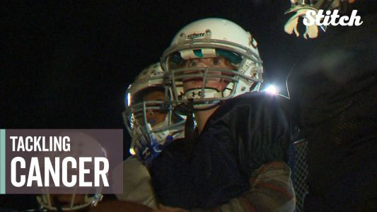 7-year-old battling brain cancer hopes to lead football team to big game