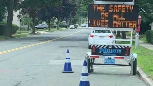 MA Police chief launches investigation into traffic message reading 'All Lives Matter'