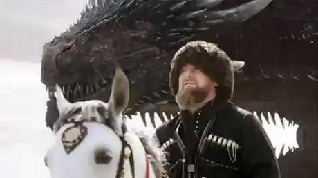 Drakarys! Chechnya's leader Kadyrov 'destroys his enemies' with dragon in GoT inspired clip