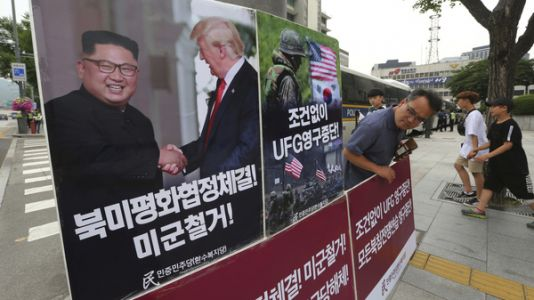 U.S. And South Korea Agree To Suspend Upcoming Military Exercises Indefinitely