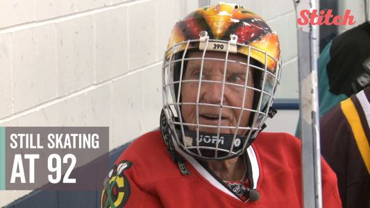 'Geno is my idol': 92-year-old hockey player defies father time