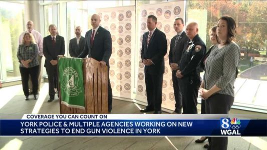 Officials announce new effort to combat gun violence in York