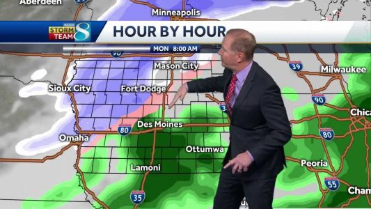 Tracking a wintry mix for Monday