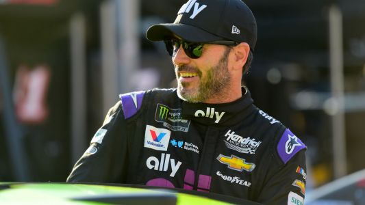 Jimmie Johnson announces return to NASCAR racing with a cringe-worthy rap video from his spotter