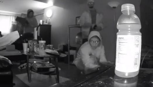 Video of break-in shows how fast thieves can ransack your home