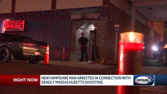 New Hampshire man arrested in connection with deadly Massachusetts shooting
