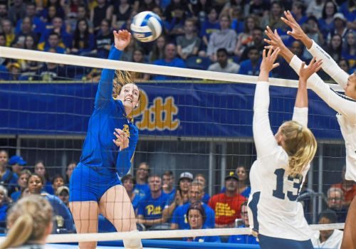 Pitt volleyball star Kayla Lund's journey to ACC Player of the Year, NCAA tournament