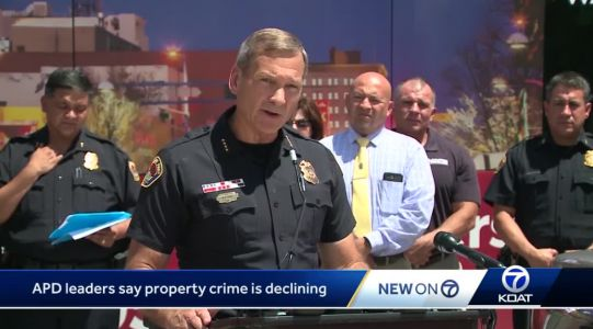 APD leaders: Property crime declining for first time in years