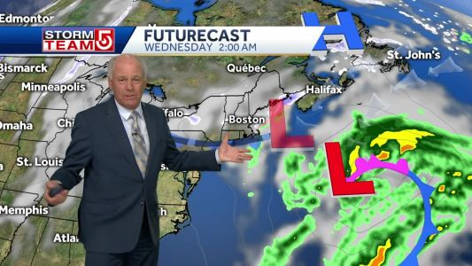 Video: Snow possible overnight Tuesday, Wednesday morning