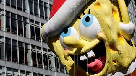 'They've come for SpongeBob': Twitter wierded out by professor calling beloved cartoon character 'RACIST COLONIZER'