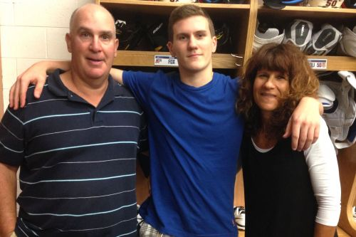 Two longtime Rangers fans now have son on their favorite team