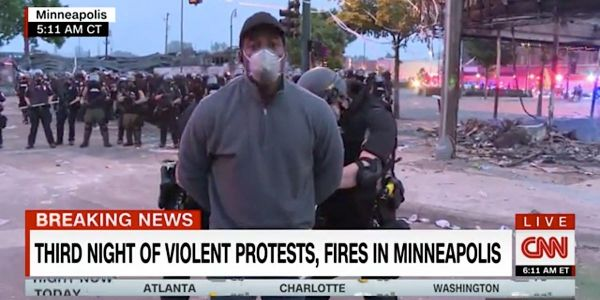 CNN accuses the Minneapolis police of lying about its arrest of a black reporter and his crew