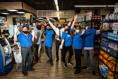 Inside an NYC grocery store during COVID-19 - and the city's new reality