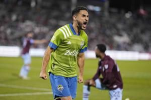 Sounders tie Colorado 1-1, clinch top-four playoff seed