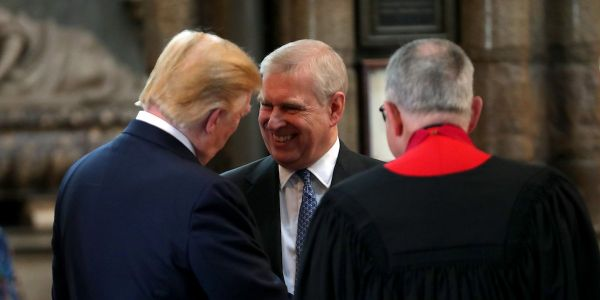 Trump claimed he doesn't know Prince Andrew. These photos say otherwise