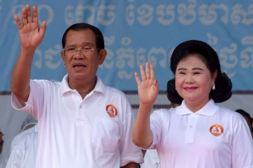 Cambodia's Opposition Candidates Swim Against the Tide in Election Panned as a Sham
