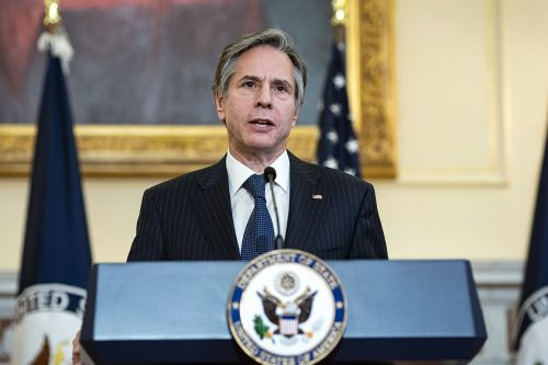 Blinken warns China, Russia about military action