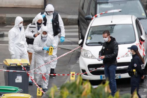 Seven detained for Paris knife attack near former Charlie Hebdo offices