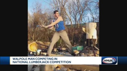 Walpole man competes in national lumberjack competition