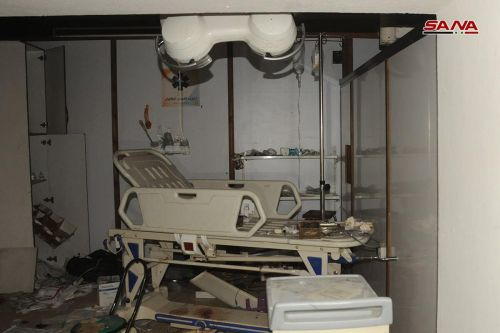 """In the Western Media Narrative, SAA-Targeted Underground Bunkers and Terrorist-Run Prisons Become """"Hospitals"""""""