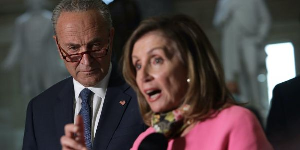 Pelosi and Schumer ditched the secret COVID-19 stimulus plan they sent direct to Mitch McConnell when they publicly backed the $908 bipartisan package instead