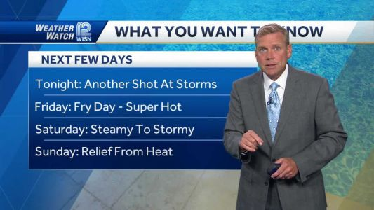 Videocast: First Storms, Then Heat